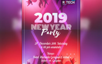 R Tech Group New Year Party at Ramada, Gurgaon