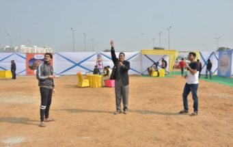 R Tech Group Organized Kite Festival at Capital Highstreet Jaipur