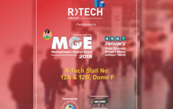 R-Tech Group Participated in MGE Expo, Jodhpur