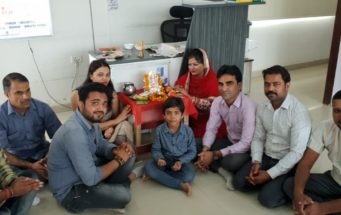 Ganesh Chaturthi Celebration at office on 13th Sep 2018