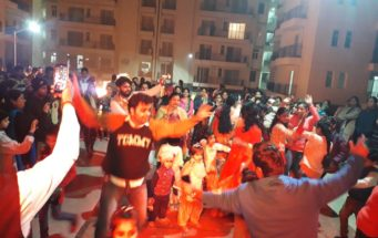 R Tech Celebrated Lohri at Capital Greens Bhiwadi