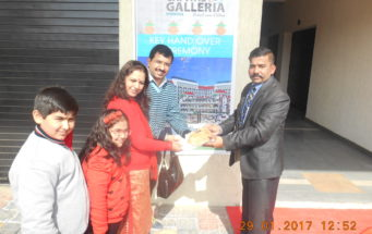 Key Handover Ceremony – Capital Galleria Bhiwadi
