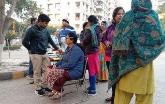 ORGANIZED FREE EYE CHECK UP CAMP ASHIANA AANGAN BHIWADI 7th January 2019