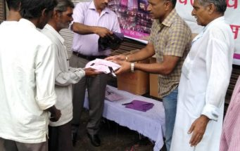 Shirt Distribution among Underprivileged people of Alwar, 2nd Sep 2018