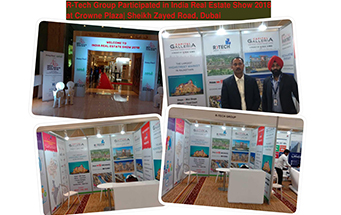 R Tech Participated in India Real estate Property Show, Dubai