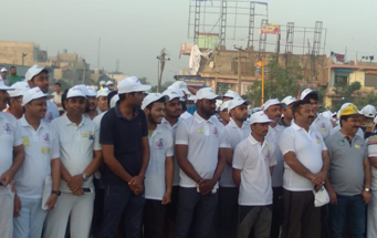 """Run for Vote"" Marathon in Bhiwadi supported by R-Tech Group, 23 Apr 2019"
